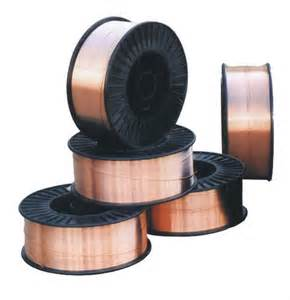 0.8 mm A18 Mild steel welding wire spools.