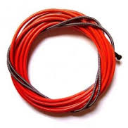 0.9-1.2mm red liner for steel 4 metre long 124.0031