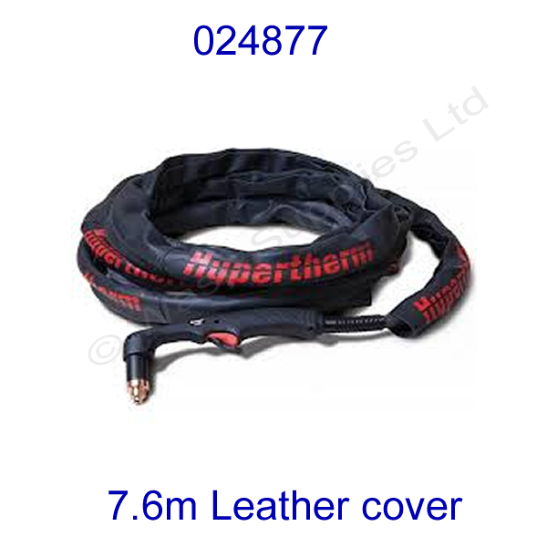 024877 Hypertherm leather torch cover 7.6 metre