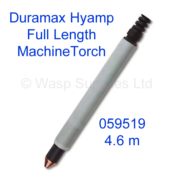059519 Hypertherm Duramax Hyamp Machine plasma cutting torch 180 degree 4.6 metre