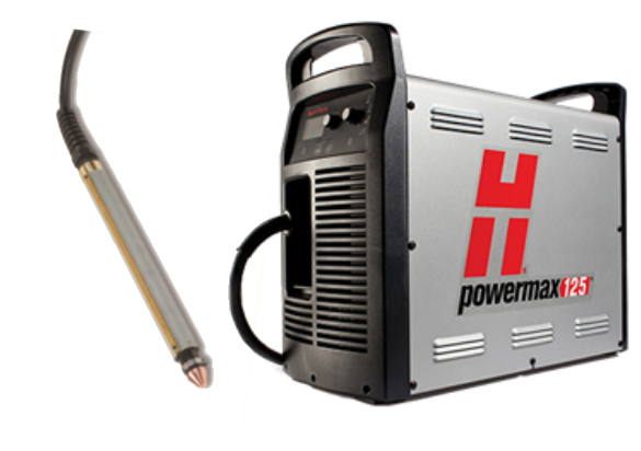 059529 Hypertherm Powermax 125, Combi System with hand and machine torch.