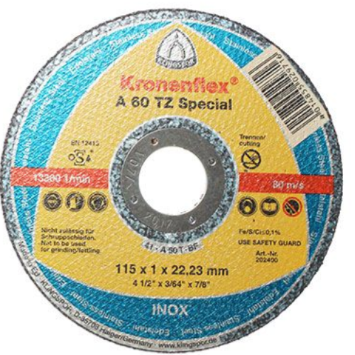 115 x 1 mm Klingspor A60TZ Special Thin Cutting Discs