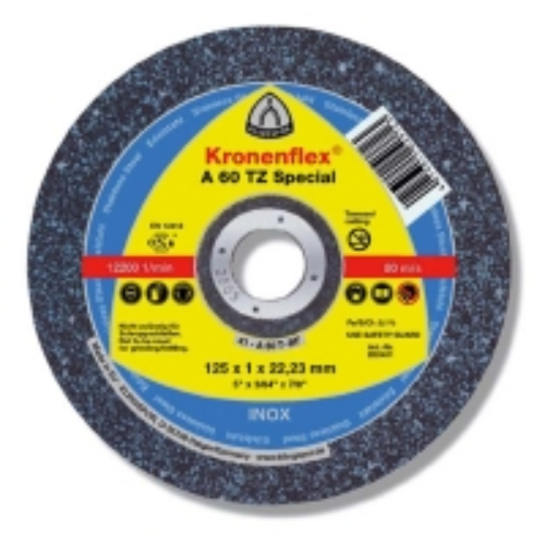 125x22x1 mm Klingspor A60TZ Special Thin Cutting Discs