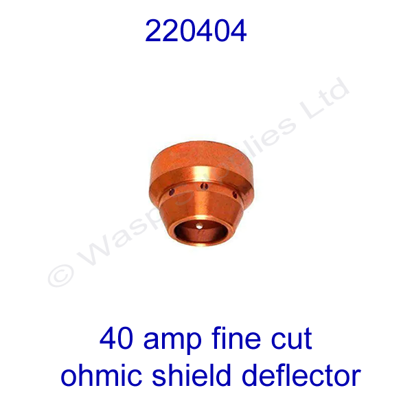 220404 Hypertherm Fine cut Ohmic shield powermax 1000 pk 1