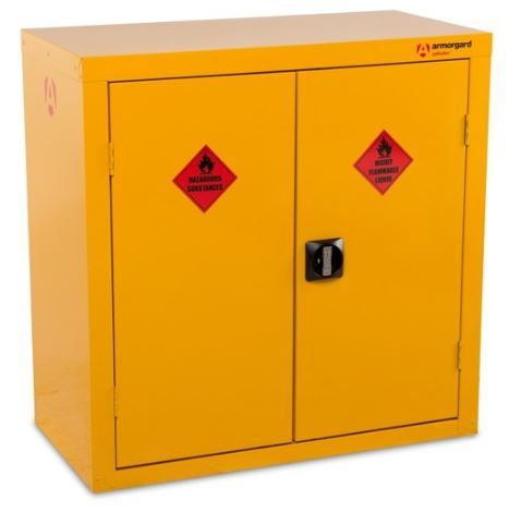Armorgard SafeStor HFC3 Hazardous Floor Cupboard for COSHH storage