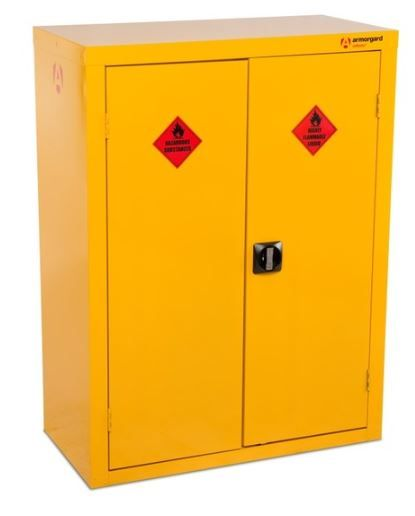 Armorgard SafeStor HFC5 Hazardous Floor Cupboard for COSHH storage