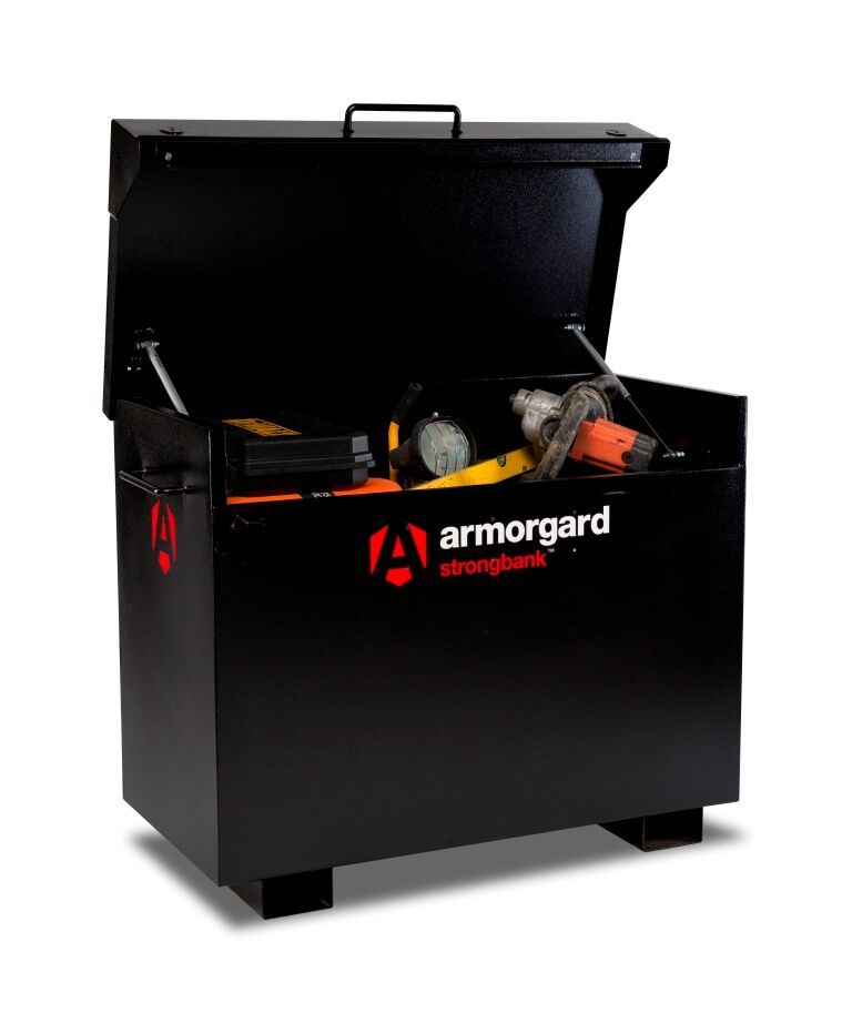 Armorgard Strongbank SB3 ultra strong secure site box.
