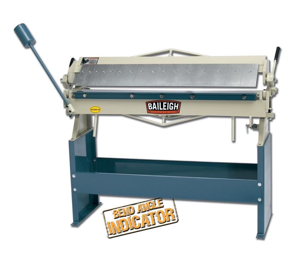 Baileigh BB-4816 Heavy Duty Box and Pan Brake