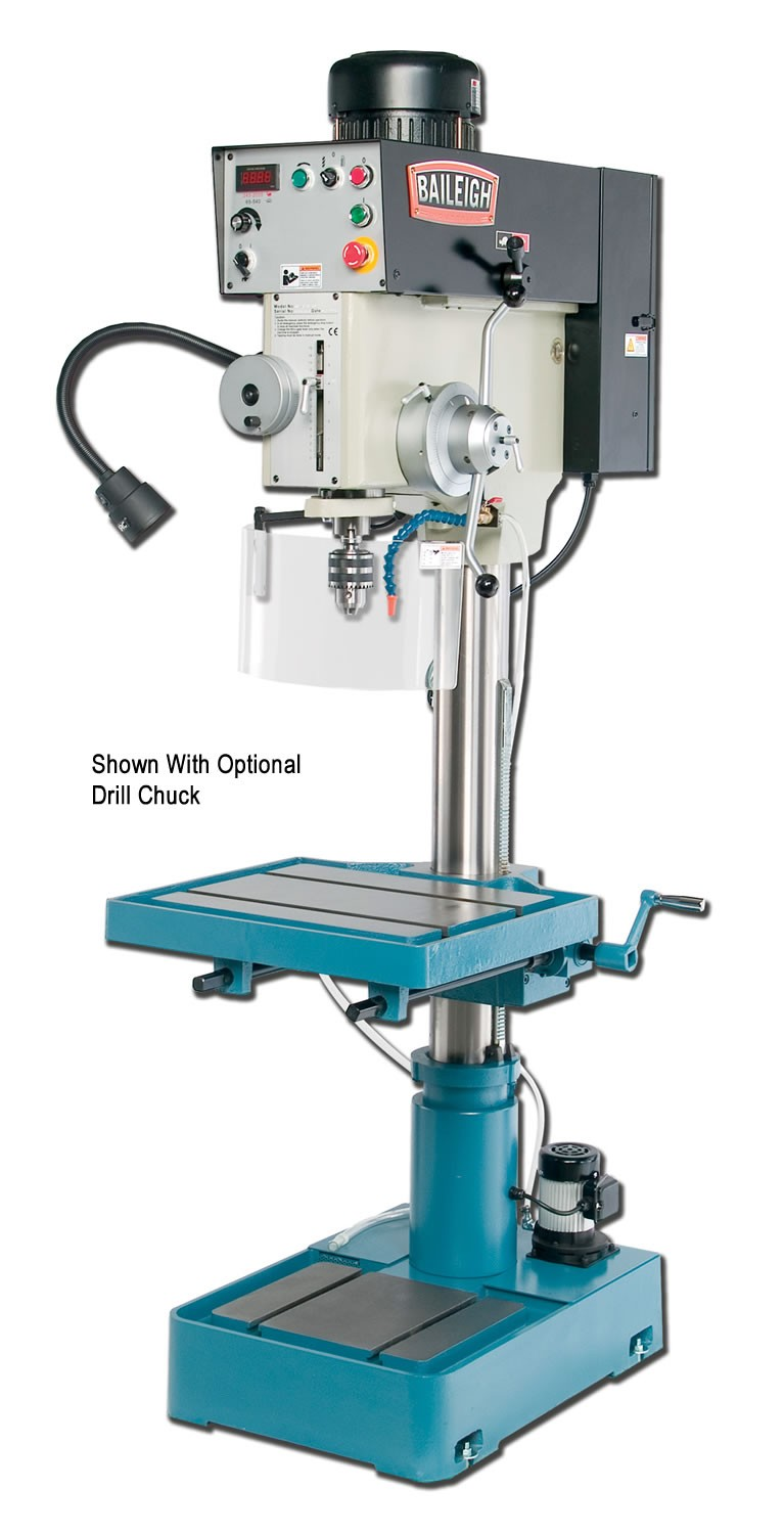 Baileigh Dp 1500vs Variable Speed Pillar Drill Press With