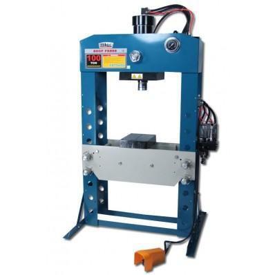 Baileigh Hsp 100a Workshop Hydraulic Press 100 Ton Air