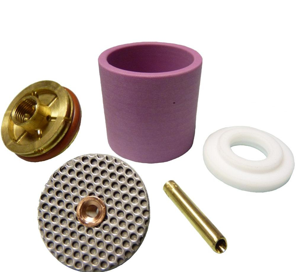 CK 2 series complete Large Alumina cup gas saver kit, select correct tungsten size .