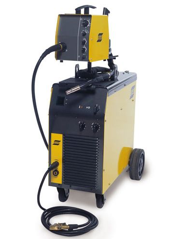 ESAB Origo MIG L405 ready to weld package 5metre intercons.