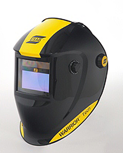 ESAB Warrior Tech Black Auto Darkening Welding Headshield (part no: 0700000400)