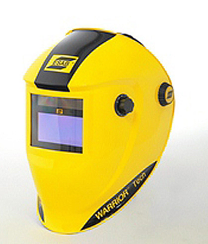 ESAB Warrior Tech Yellow Auto Darkening Welding Headshield (part no: 0700000401)