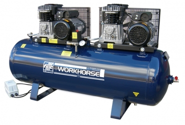 Fiac Workhorse Twin drive Compressors