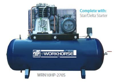 Fiac Workhorse WRN10HP-270S Compressor available from Wasp Supplies Ltd online store