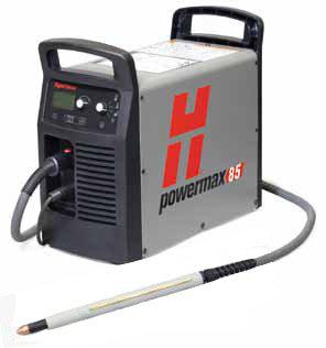 Hypertherm Powermax 85 Plasma cutter-with 14 pin CPC port for automated use, 7.6m torch.