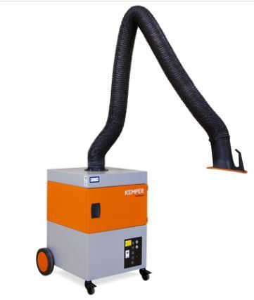 Kemper ProfiMaster Welding Fume Extraction Unit (W3 Certified) with Flexible Exhaust Arm