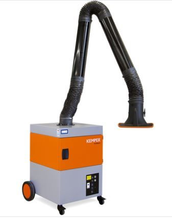 Kemper ProfiMaster Welding Fume Extraction Unit (W3 Certified) with Metal Rigid Exhaust Arm