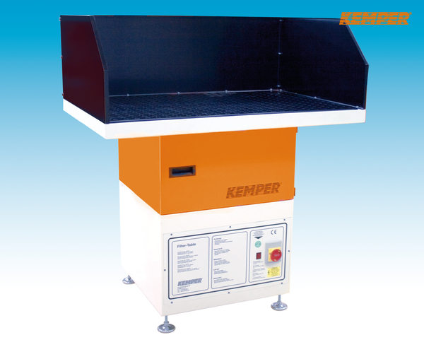 Kemper Welding and cutting filter table with integral fan.
