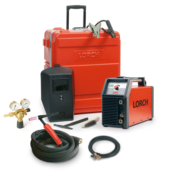 Lorch Handy Tig 180 AC/DC tig package-control pro Assembly pack