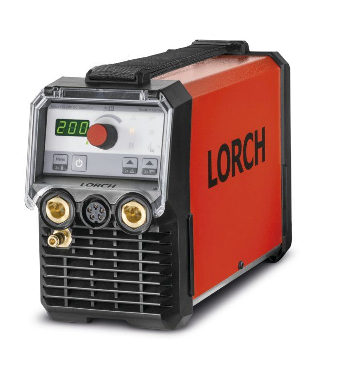 Lorch Micortig 200 BasicPlus DC Tig, 110 / 230 volt or Battery powered