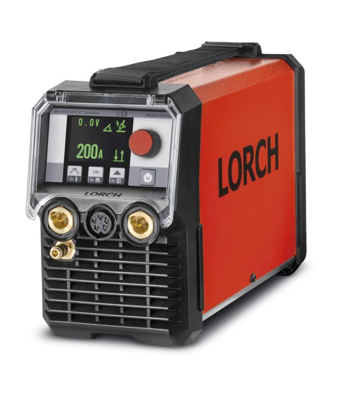Lorch Micortig 200 Control Pro DC Tig, 110 / 230 volt or Battery powered