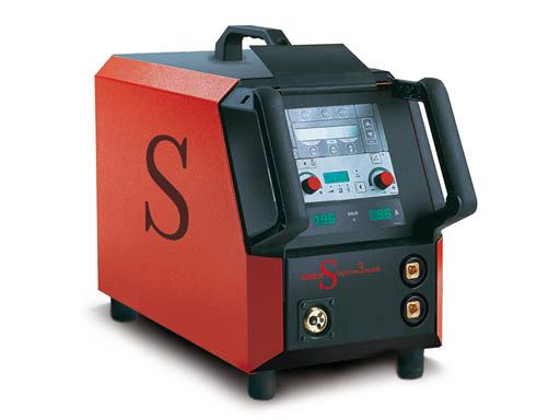 Lorch Saprom S3 Mobile Synergic Pulse Mig with Speedpulse -from wasp supplies ltd
