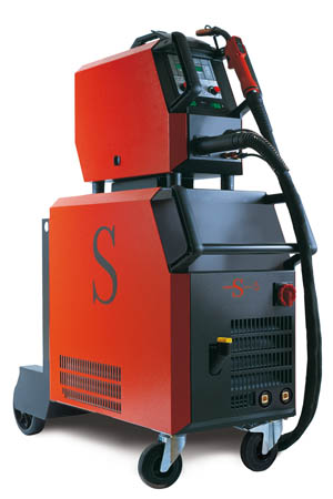 Lorch Saprom S8 seperate Synergic Pulse Mig with Speedpulse from Wasp supplies ltd