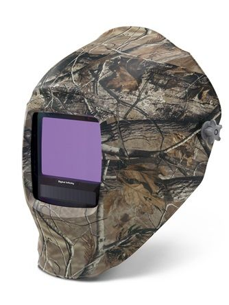 Miller Digital Infinity Camouflage light reactive auto welding head shield.
