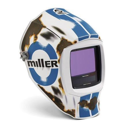 Miller Digital Infinity Relic  light reactive auto welding head shield.