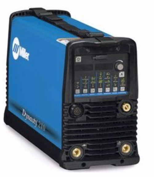 Miller Dynasty 210 DX AC/DC tig welder gas cooled package.