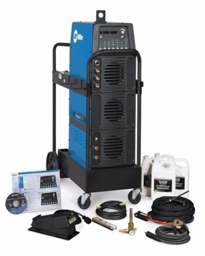 Miller Dynasty 800 AC/DC Tig Welder water cooled package