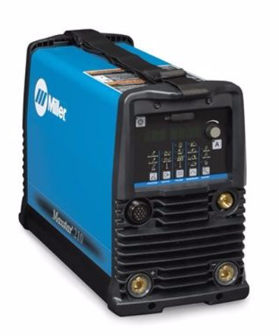 Miller Maxstar 210 DX DC tig welder gas cooled package.