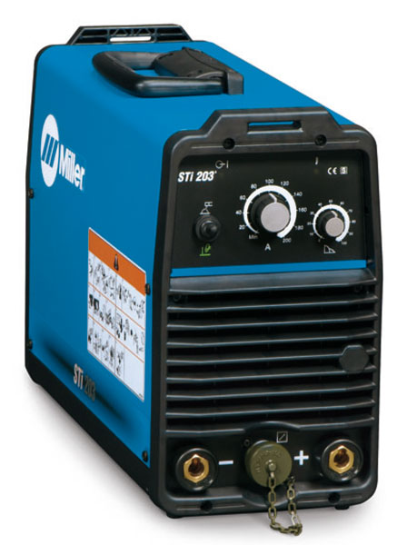 Miller Welding >> Miller STI 203 Inverter Arc Welder from wasp supplies ltd