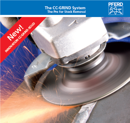 Pferd CC Grind Solid high stock removal grinding discs