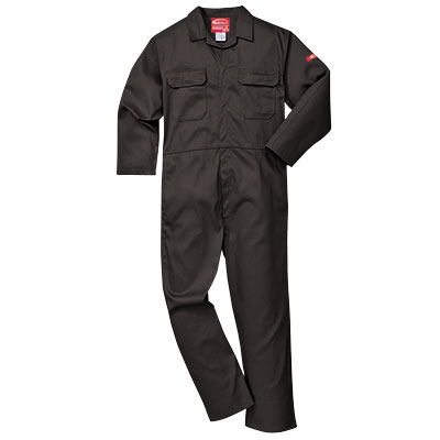 Portwest Bizweld (Black) BIZ1 Flame Retardant Coverall