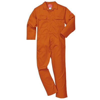 Portwest Bizweld (Orange) BIZ1 Flame Retardant Coverall