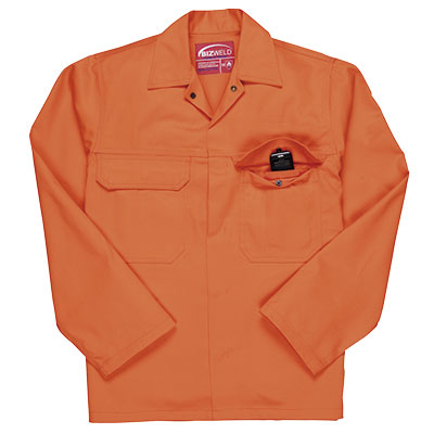 Portwest Bizweld (Orange) Flame Retardant Jacket