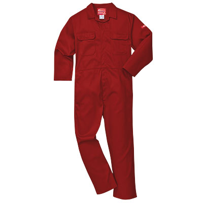 Portwest Bizweld (Red) BIZ1 Flame Retardant Coverall
