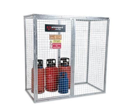 Secure Gas cylinder storage solutions