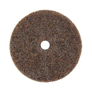 Surface sanding disc with hole (115x22)mm diameter Aluminium Oxide coated (COARSE) ~ Boxed in 10's