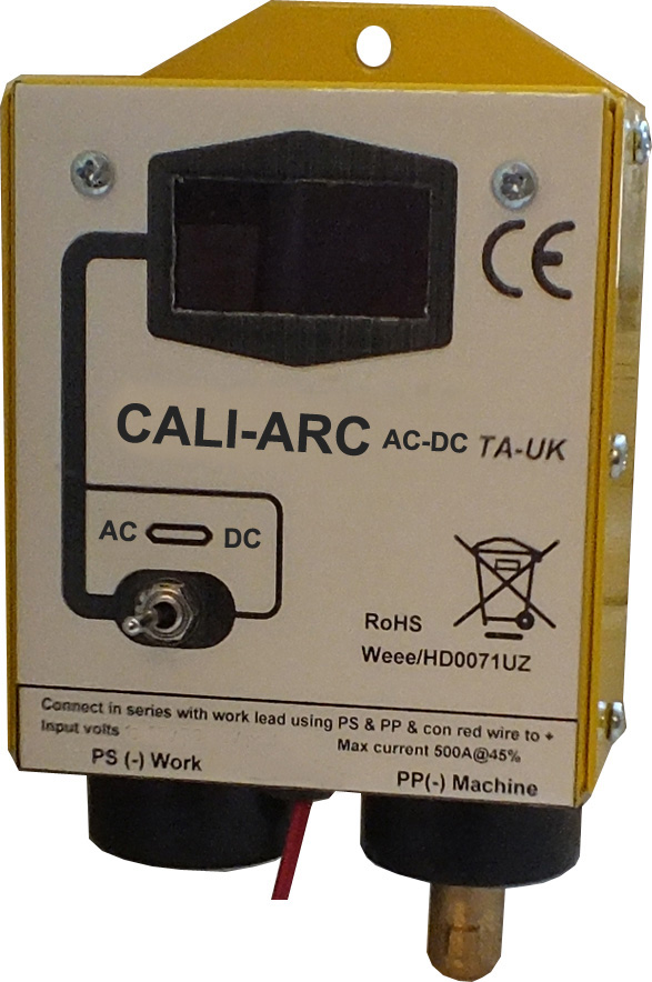 Tecarc CALI-ARC AC DC Digital meter box
