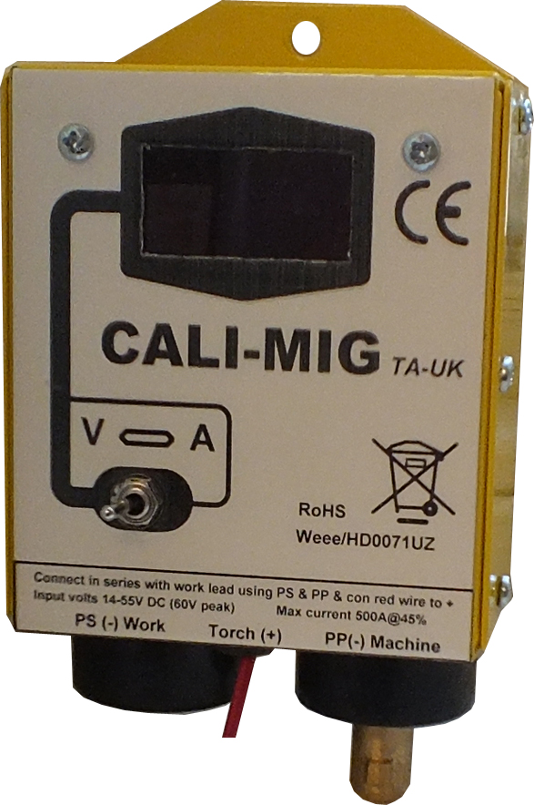Tecarc CALI-Mig Digital meter box NO external supply rquired
