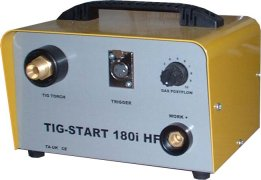 Tecarc tig 180i dc tig box. turn your Arc welder into a TIG welder