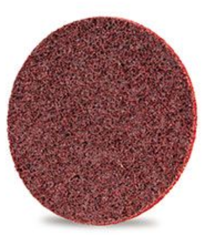 Velcro surface sanding disc 115mm diameter Aluminium Oxide coated (MEDIUM) ~ Boxed in 10's