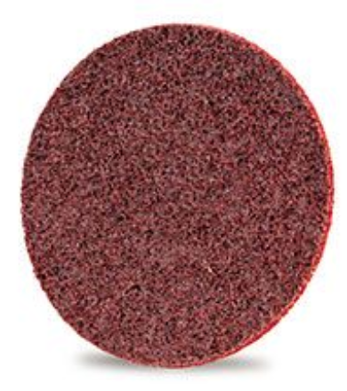Velcro surface sanding disc 127mm diameter Aluminium Oxide coated (MEDIUM) ~ Boxed in 10's