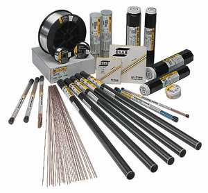 Welding wires, rods, electrodes and consumables
